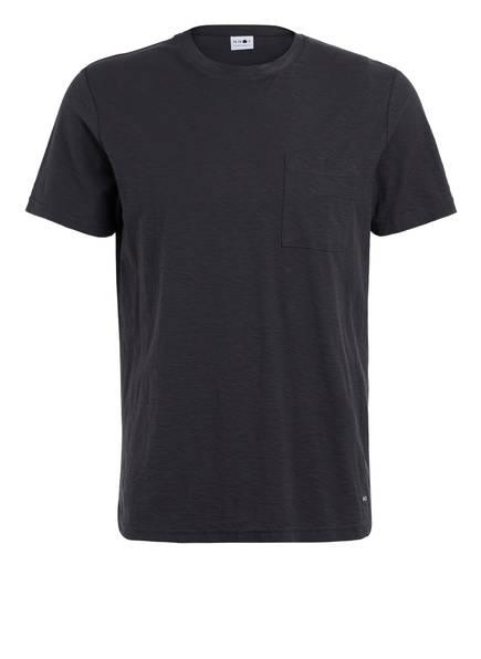 NN07 T-Shirt ASPEN, Farbe: DUNKELGRAU (Bild 1)