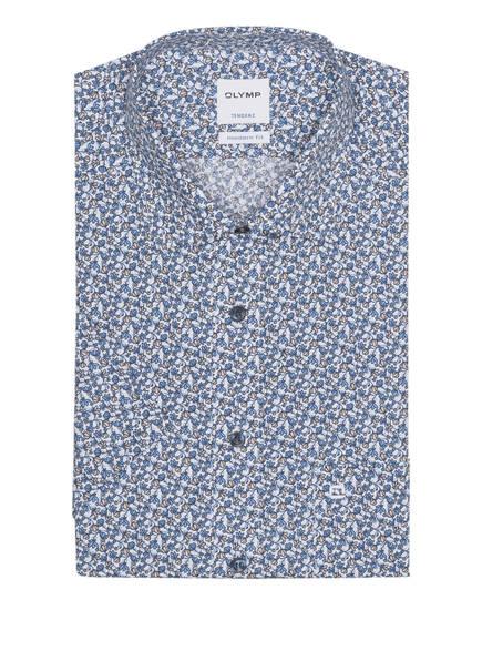 OLYMP Kurzarm-Hemd Tendenz modern fit, Farbe: WEISS/ HELLBLAU/ BEIGE  (Bild 1)