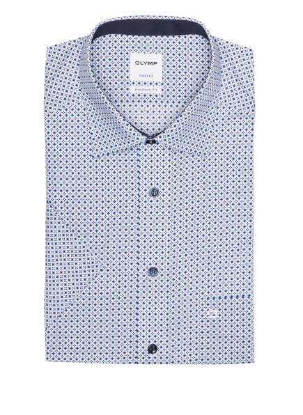 OLYMP Kurzarm-Hemd Tendenz modern fit , Farbe: WEISS/ HELLBLAU/ BLAU (Bild 1)