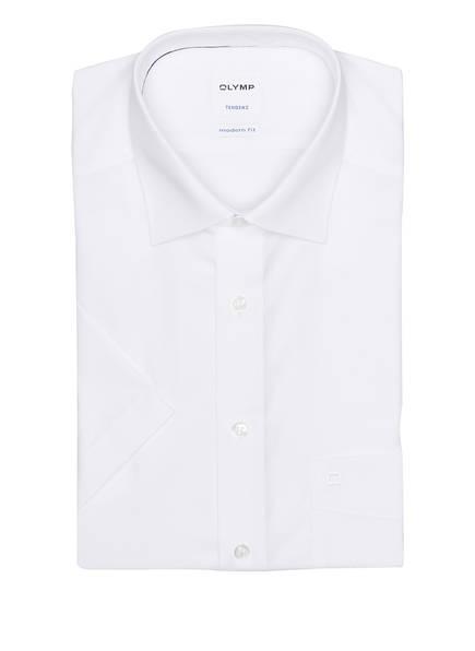 OLYMP Kurzarm-Hemd Tendenz modern fit, Farbe: WEISS (Bild 1)