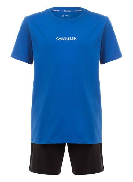 Calvin Klein Shorts-Schlafanzug , Farbe: BLAU/ SCHWARZ (Bild 1)