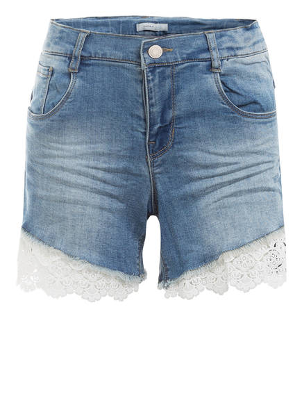 name it Jeans-Shorts , Farbe: LIGHT BLUE DENIM (Bild 1)