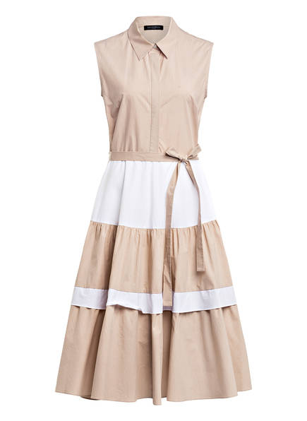 ANTONELLI firenze Kleid LAURENCE, Farbe: BEIGE/ WEISS (Bild 1)