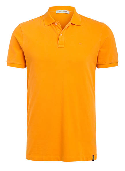 SCOTCH & SODA Piqué-Poloshirt, Farbe: ORANGE (Bild 1)