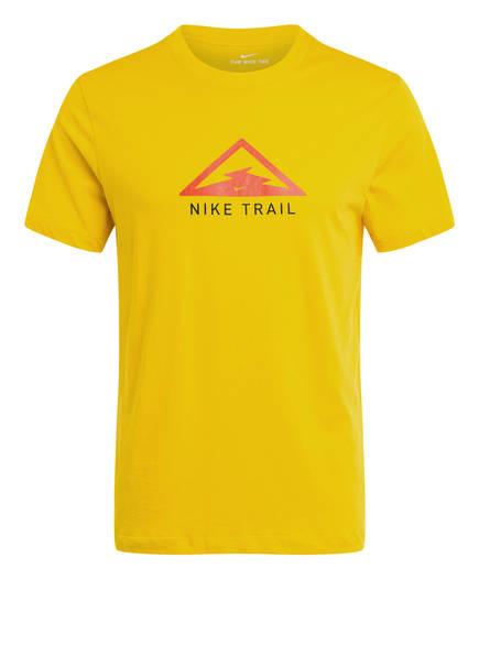 Nike Laufshirt DRI-FIT, Farbe: GELB (Bild 1)