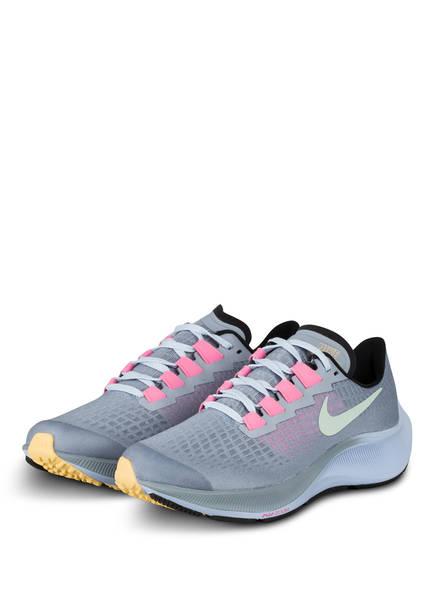 Nike Laufschuhe AIR ZOOM PEGASUS 37, Farbe: HELLBLAU/ ROSA/ MINT (Bild 1)