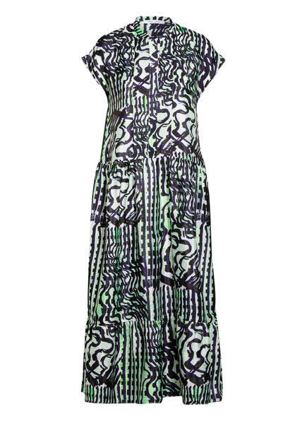 SAMSØE  SAMSØE Kleid MARGO , Farbe: DUNKELBLAU/ WEISS/ GRÜN (Bild 1)