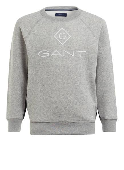 GANT Sweatshirt, Farbe: HELLGRAU MELIERT (Bild 1)