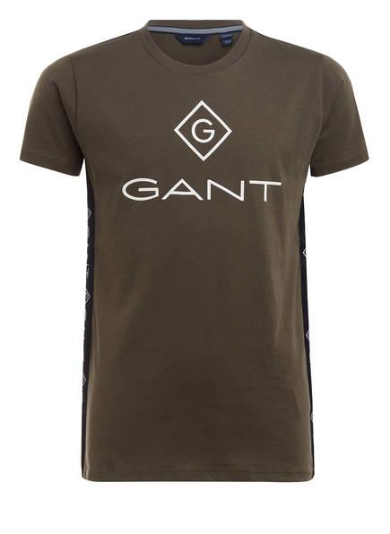 GANT T-Shirt, Farbe: OLIV (Bild 1)