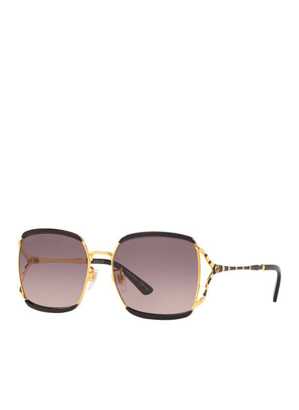 GUCCI Sonnenbrille CD001105, Farbe: 1330L3 - GOLD/ ROSA VERLAUF (Bild 1)