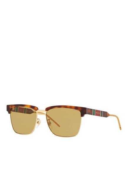 GUCCI Sonnenbrille CD001105, Farbe: 4402Y1 - HAVANA GOLD/ GELB (Bild 1)