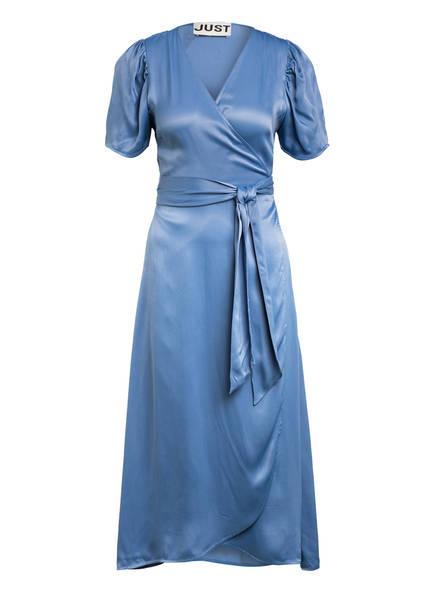 JUST FEMALE Wickelkleid JULISSA mit Volantbesatz, Farbe: HELLBLAU (Bild 1)