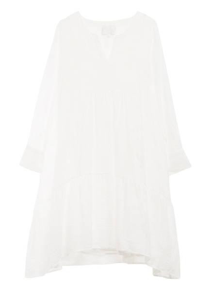 SECOND FEMALE Jacquard-Kleid MILA, Farbe: WEISS (Bild 1)