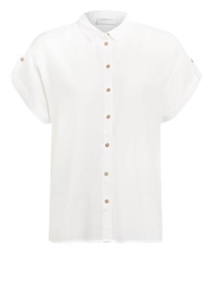 FREEQUENT Hemdbluse, Farbe: WEISS (Bild 1)