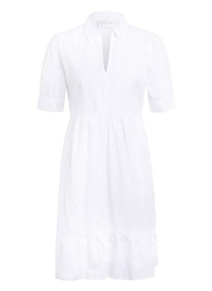 FREEQUENT Kleid mit Lochspitze, Farbe: WEISS (Bild 1)