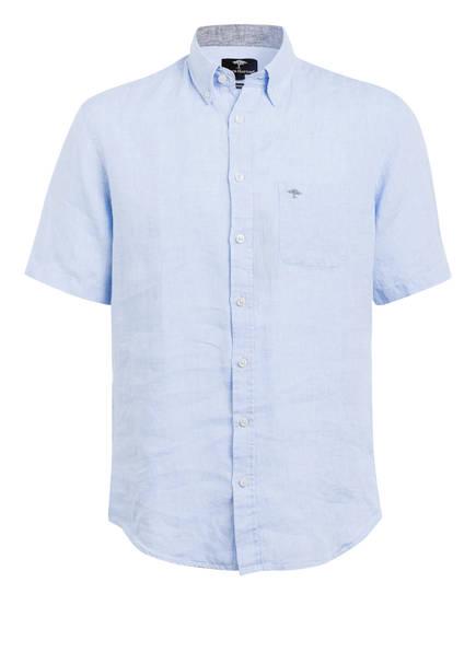 FYNCH-HATTON Halbarm-Hemd Regular Fit aus Leinen , Farbe: HELLBLAU (Bild 1)