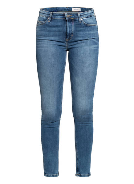 Marc O'Polo DENIM Jeans KAY CROPPED, Farbe: P94 multi/ mid blue used (Bild 1)