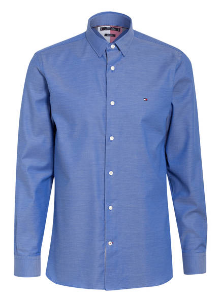 TOMMY HILFIGER Hemd FLEX Regular Fit, Farbe: BLAU (Bild 1)