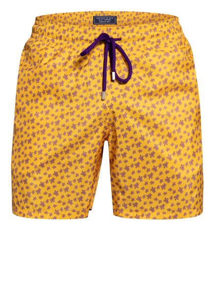 VILEBREQUIN Badeshorts MAHINA , Farbe: GELB/ LILA (Bild 1)