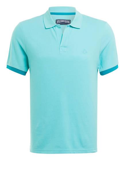 VILEBREQUIN Piqué-Poloshirt, Farbe: TÜRKIS (Bild 1)