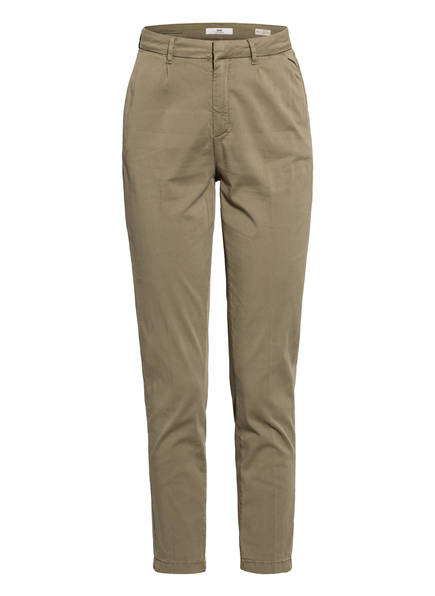 mavi 7/8-Chino NELLY, Farbe: 31152 OLIVE TWILL STRETCH (Bild 1)