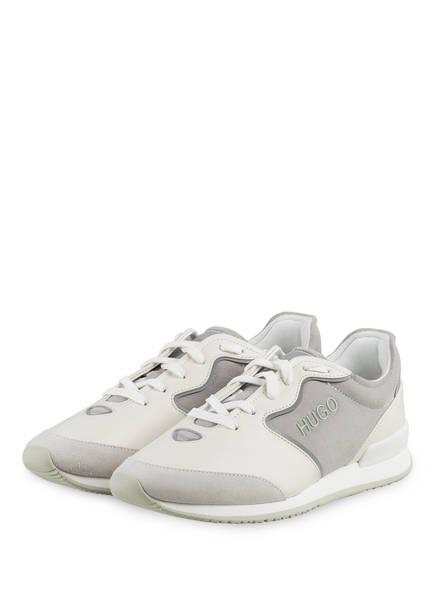 HUGO Sneaker AMY, Farbe: WEISS/ HELLGRAU (Bild 1)