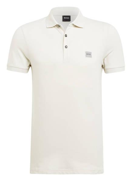 BOSS Piqué-Poloshirt PASSENGER Slim Fit, Farbe: BEIGE (Bild 1)