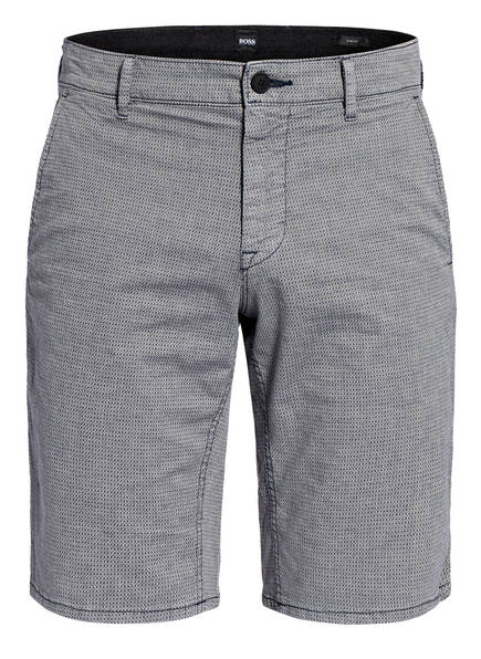 BOSS Chino-Shorts SCHINO Slim Fit, Farbe: BLAUGRAU (Bild 1)