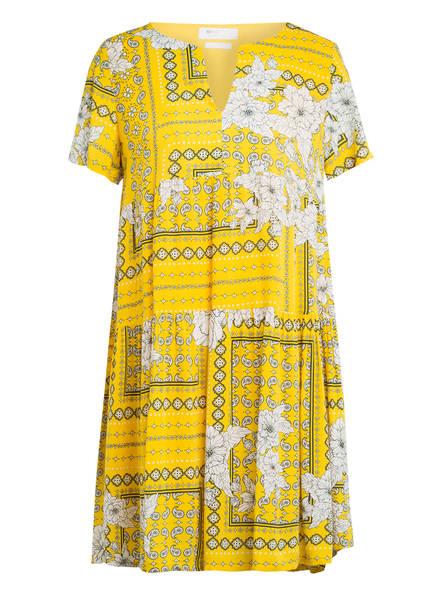 rich&royal Kleid, Farbe: GELB/ WEISS/ DUNKELGRÜN (Bild 1)