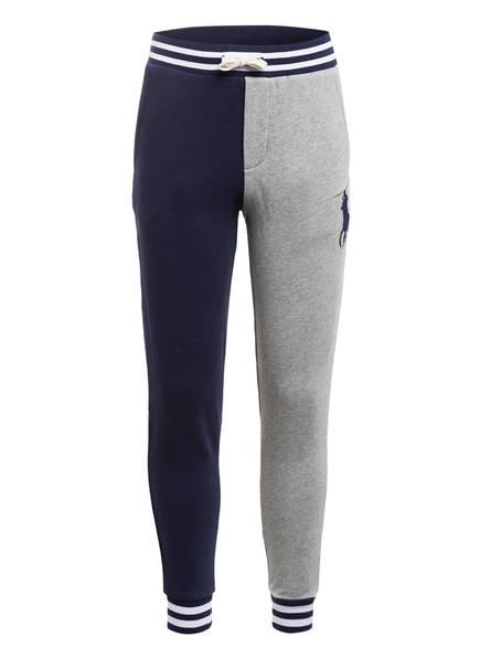 POLO RALPH LAUREN Sweatpants, Farbe: DUNKELBLAU/ HELLGRAU (Bild 1)