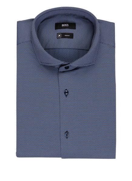 BOSS Hemd JASON Slim Fit, Farbe: SCHWARZ/ BLAU/ WEISS (Bild 1)