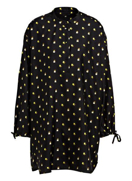STINE GOYA Oversized-Blusenshirt NEVA, Farbe: SCHWARZ/ GELB (Bild 1)