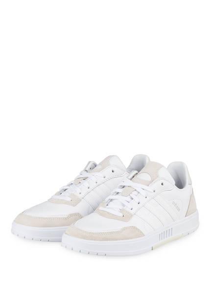 adidas Sneaker COURTMASTER, Farbe: WEISS/ HELLGRAU (Bild 1)