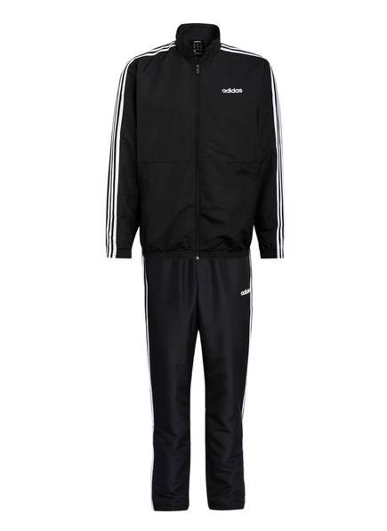 adidas Traningsanzug, Farbe: SCHWARZ (Bild 1)