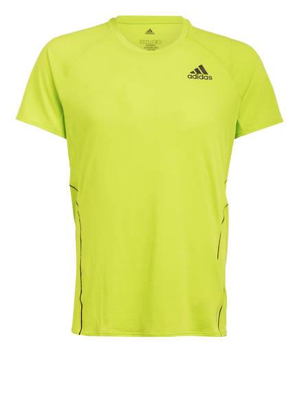 adidas Laufshirt, Farbe: NEONGRÜN (Bild 1)