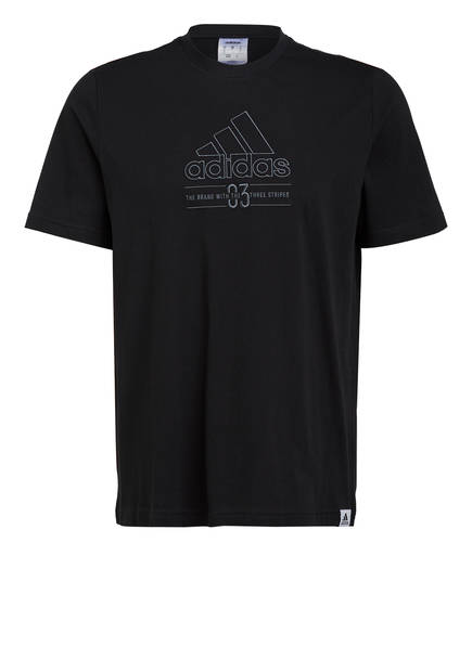 adidas T-Shirt , Farbe: SCHWARZ (Bild 1)
