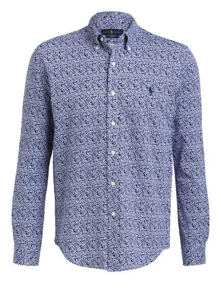 POLO RALPH LAUREN Hemd Regular Fit, Farbe: DUNKELBLAU/ WEISS (Bild 1)