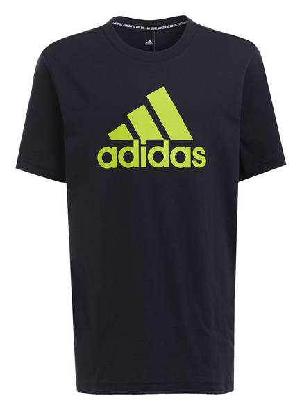 adidas T-Shirt MUST HAVES BADGE OF SPORT, Farbe: DUNKELBLAU (Bild 1)