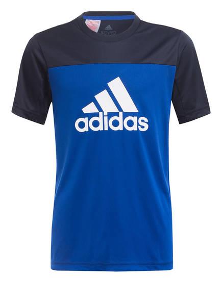 adidas T-Shirt EQUIPMENT , Farbe: DUNKELBLAU/ BLAU (Bild 1)