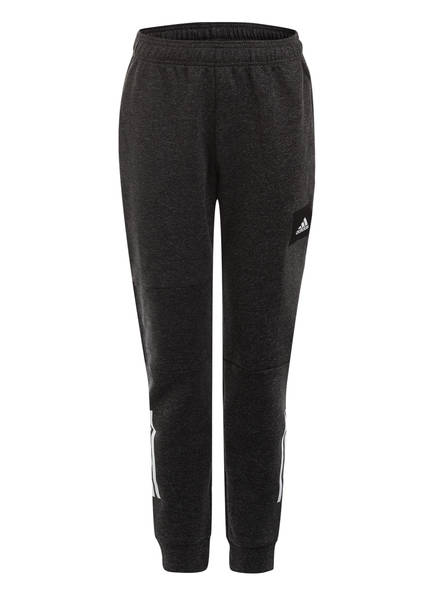adidas Sweatpants MUST HAVES, Farbe: SCHWARZ MELIERT (Bild 1)