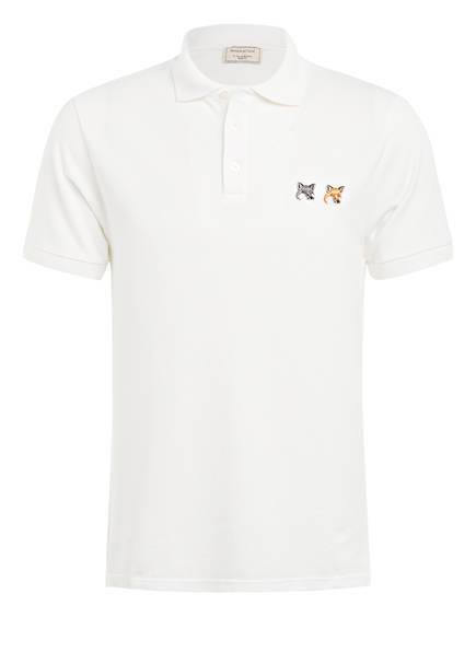 MAISON KITSUNÉ Pique-Poloshirt , Farbe: ECRU (Bild 1)