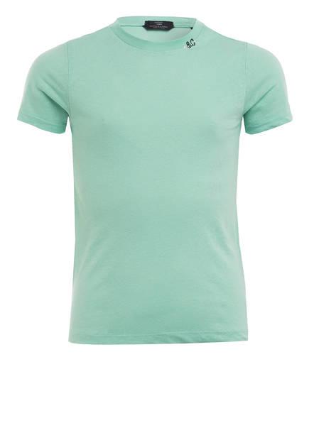 SCOTCH R'BELLE T-Shirt mit Leinen , Farbe: MINT (Bild 1)