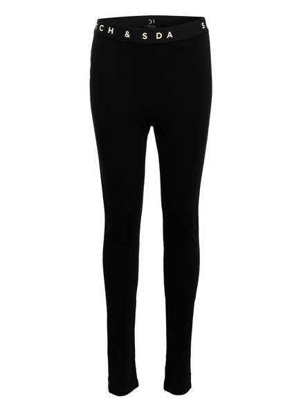 SCOTCH R'BELLE Leggings, Farbe: SCHWARZ (Bild 1)