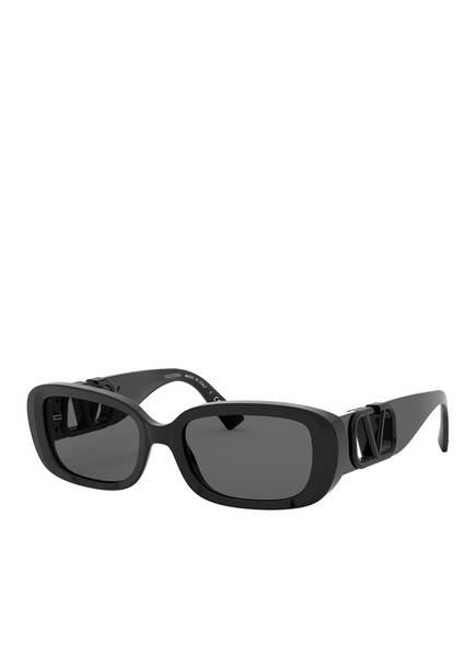 VALENTINO Sonnenbrille VA4067, Farbe: 500187 - SCHWARZ/ SCHWARZ (Bild 1)