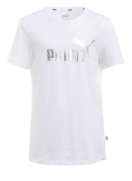 PUMA T-Shirt, Farbe: WEISS (Bild 1)
