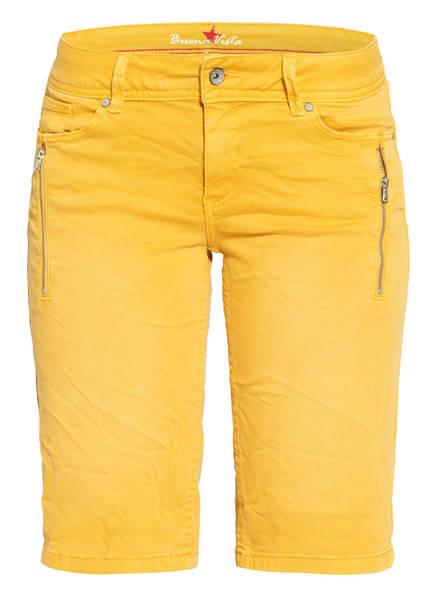 Buena Vista Jeans-Shorts MALIBU, Farbe: DUNKELGELB (Bild 1)