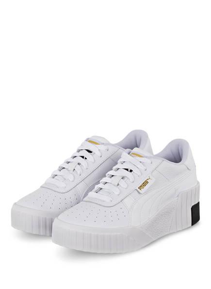 PUMA Plateau-Sneaker CALI WEDGE, Farbe: WEISS (Bild 1)