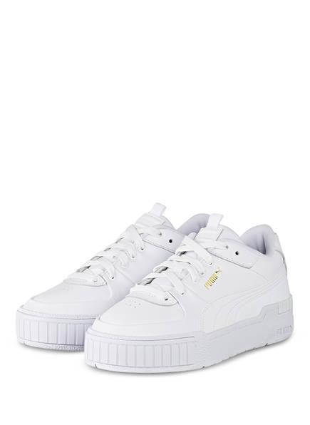 PUMA Plateau-Sneaker CALI SPORT, Farbe: WEISS (Bild 1)