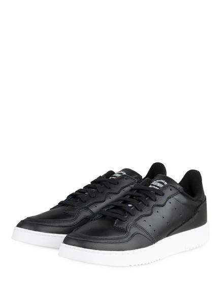 adidas Originals Sneaker SUPERCOURT, Farbe: SCHWARZ/ WEISS (Bild 1)