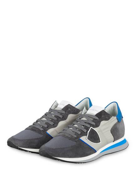 PHILIPPE MODEL Sneaker TRPX, Farbe: GRAU/ HELLGRAU/ BLAU (Bild 1)